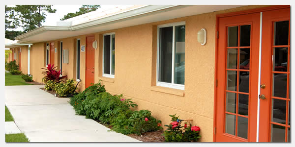 HUD Section 811 disabled housing and goverment grants community development at The Pines Apartments in Ft. Myers Florida.
